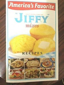 New Jiffy Mixed Recipe Book America's Favorite Color Pictures classic cookbook