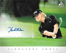 Hunter Mahan 2004 Upper Deck SP Signature Golf 'Signature Shots' 8 x 10 Auto