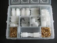 Japan Stecker Blockstecker Set 2 3 4 6 Pin  2,8 mm 40 Sätze neu