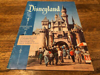 Vintage 1957 Disneyland Park Complete Guide Booklet / Program