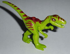 ANIMAL Lego Dino Lime Coelophysis w/dark  red markings NEW 30320 Gallimimus
