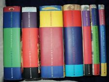 Harry Potter Complete Set Of 7 Hardback Bloomsbury 1st Edition Books