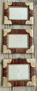 Triple photo frame 6x4