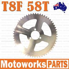 T8F Chain 58T Rear Sprocket Cog 49cc Mini PIT Pocket Rocket Quad Drit Bike ATV