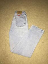 Mens Wrangler Denim Regular Fit Blue Jean - Size 30 X 30 - 96501 LW