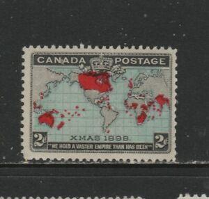 CANADA #86 XMAS MAP CANADA     MINT  NH