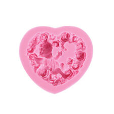 Rose Angel Craft Art Silicone Soap Mold 3D Craft Molds Fimo Resin Clay Molds UK