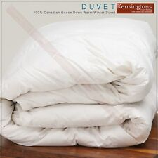 Kensingtons®Canadian White Goose Down Feather Duvet  All Season Togs Comforter
