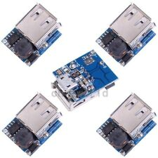 5pcs 5V 1A 1.2A Power Bank Lithium Battery Charger Board Boost Charging Module D