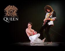 "Queen Freddie Mercury, Brian May Wall Art Print 14 x 11"""