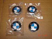 BMW Genuine Wheel Center Hub Cap with Logo (Set of 4) NEW 1 3 5 6 7 8 X Series