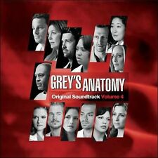 NEW Grey's Anatomy Original Soundtrack Volume 4 (Audio CD)