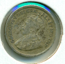 1918 CANADA SILVER FIVE CENTS, NICE FINE, GREAT PRICE!