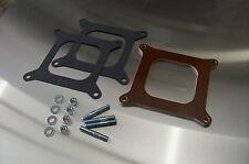 "Fits Holley 4150 4160 4 Barrel Phenolic Carb Insulator Spacer Heat Soak 1/4"" Kit"