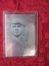 Babe Ruth New York Yankees 1992 Gold Entertainment Hologram Gold Foil Parallel 1