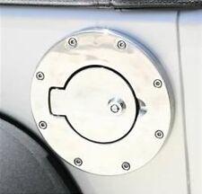 Rampage Locking Fuel Door 07-13 Jeep Wrangler JK 85001 Polished Stainless