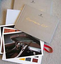 PORSCHE CARRERA GT OWNERS PRESENTATION BOOK BROCHURE 2003 NEW IN BOX USA EDITION