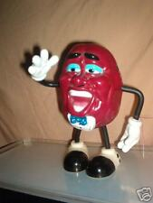 California Raisin Doll Figure Am Radio 1988 WORKS! 1988