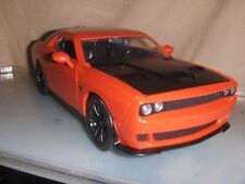Toy Jada Dub 1:24 2015 Hemi Orange Dodge Challenger SRT Hellcat Hot Rod Car