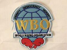 Patch WBO World Boxing Organization Boxing World Champion Boxe