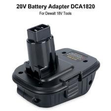 New DCA1820 Battery Adapter for Dewalt 18V Tools, to Convert Dewalt 20V Battery