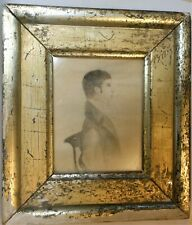 Nice Early Miniature Water Color Portrait Of A Gent