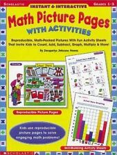 Instant and Interactive Math Picture Pages with Activities: Reproducible,