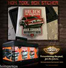 HOLDEN TORANA A9X 1979 CONQUERERS PVC STICKER ALL STICKERS ARE WATER PROOF