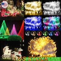 20M 200LEDS Fairy LED String Light AC110V Chirstmas String Garland Christmas US
