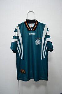 Deutschland Jersey 1996-1998 Away Deutscher Adidas Vintage Germany National Team