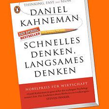 Daniel Kahneman | pensar rápido, lento pensar cómo | decisiones (libro)