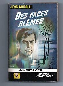 ANGOISSE n°116. Jean MURELLI. Les faces blêmes. Editions Fleuve Noir 1965
