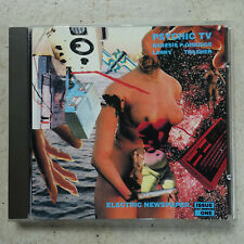 Psychic TV ‎– Electric Newspaper Issue One CD Dossier ‎DCD 9059  Orridge Trasher
