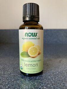 NOW Foods Organic Lemon Oil, 1 Oz.