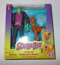 NEW! Series 1 SCOOBY DOO AND FRANKENSTEIN'S MONSTER Action Figure 2 Pack SEALED