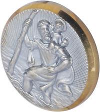 Herbert Richter HR 10210101 St. Christopher Medallion metal/PS - Made in Germany