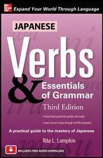 Japanese Verbs & Essentials of Grammar (Paperback or Softback)