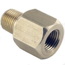 "Brass Brake Union 1/8"" NPT Male to  M10 x 1mm Female"
