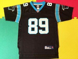 Steve Smith Carolina Panthers #89 Reebok NFL Equipment Jersey Youth Size L 14-16