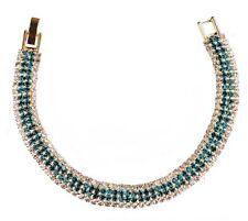 Crystal Bracelet Blue & Clear Cute & Trendy
