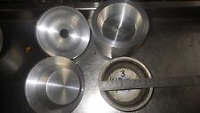 John Hunt type Pukka Pie type pie die set +10 tins NEW,MAKES 110mm Dia x 34mm d