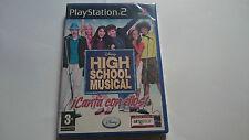 DISNEY HIGH SCHOOL MUSICAL PLAYSTATION 2 PS2 ESPANA.NUEVO.SEALED.PRECINTADO