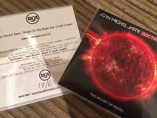 JEAN MICHEL JARRE + CYNDI LAUPER 'SWIPE TO THE  RIGHT 1TRACK CD R PROMO +STICKER