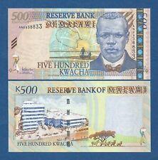 MALAWI -- 500 KWACHA ( 2005 ) -- UNC -- PICK 56a .
