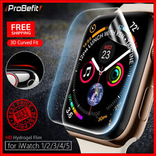 Screen Protector Clear Full Protective Film for iWatch 4 5 6 SE Apple Watch 1 2