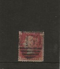 GB QV  SG43  1d Rose - Red  Plate 225  (E-B)   1858-79  FU (139 Bromsgrove)