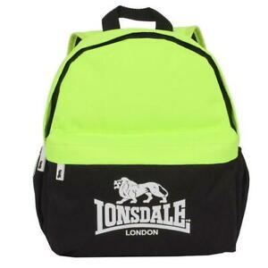 New Lonsdale UK Mini Backpack Day Bag Rucksack Sports bag Gym bag B59