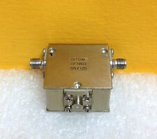 Ditom DF5803 .854 to .909 MHz, 23dB Isolation, 0.4 Loss, SMA Ferrite Circulator