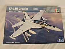 1/48 Italeri USN US Navy Boeing EA 18 G Growler / Electronic Warfare Aircraft