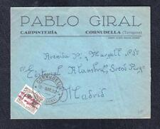 1932.- CORNUDELLA (TARRAGONA) A MADRID